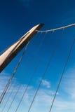 Schronienia zawieszenia Prowadnikowy most w San Diego Zdjęcie Stock
