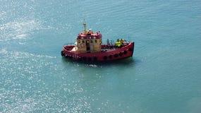 Schronienie łódź w Hirtshals fotografia royalty free