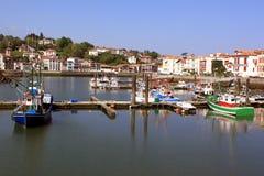 Rybołówstwo port Zdjęcia Royalty Free