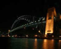schronienie bridżowa noc Sydney Zdjęcia Royalty Free