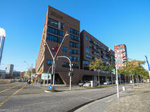 Schronienie buidling w Hamburg Obrazy Royalty Free