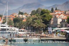 Schronienie Cavtat, Chorwacja obrazy royalty free