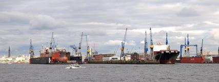 Schronienie Hamburg w Niemcy Zdjęcie Royalty Free