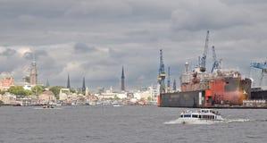 Schronienie Hamburg w Niemcy Obraz Stock