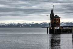 Schronienie Konstanz przy Jeziornym Constance zdjęcia royalty free