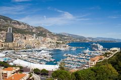 schronienie Monako Obraz Royalty Free