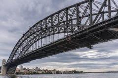 Schronienie most i schronienia ujście ocean, Sydney Australia Zdjęcia Stock