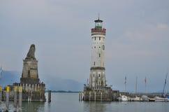 Schronienie na Jeziornym Constance Niemcy Fotografia Royalty Free