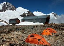 schronienie namioty Zdjęcia Royalty Free