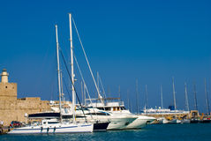 schronienie łodzi zdjęcia royalty free