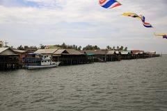 Schronienie łodzie Ko Lanta, Tajlandia Obrazy Stock