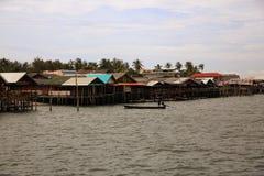 Schronienie łodzie Ko Lanta, Tajlandia Zdjęcia Royalty Free