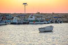 schronienie połowowego łódź Obraz Royalty Free