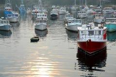 schronienie połowowego łódź Obrazy Royalty Free