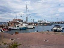 Schronienie Porto Rotondo, Włochy fotografia royalty free