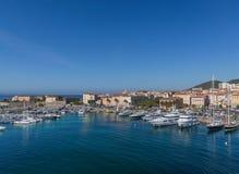 Schronienie w Ajaccio na wyspie Corsica Zdjęcie Stock