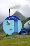 Schronienie w Altai górach, Lipiec 2016 Fotografia Stock