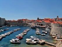 Schronienie w Dubrovnik zdjęcie royalty free