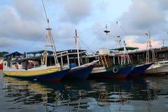 Schronienie w Labuan Bajo Zdjęcia Royalty Free