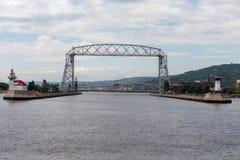 Schronienie widok Historyczny antena most zdjęcie royalty free