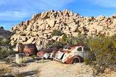 Schrottfahrzeug-Schlüssel-Ranch Lizenzfreie Stockfotos