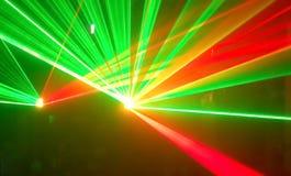 Schrulliger Lichteffekt es. Lizenzfreies Stockbild