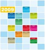 Schrulliger u. bunter Kalender 200 lizenzfreie abbildung