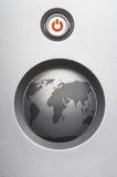 Schützen Sie unsere Welt Stockfoto