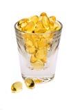 Schuß des Vitamin-E stockfotografie