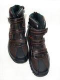 Schuh auf weißem Hintergrund Stockfoto