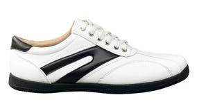 Schuh der Sportluxuxmänner Stockfoto