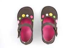 Schuh des Kindes Stockfotografie