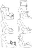 Schuhe Lizenzfreies Stockbild