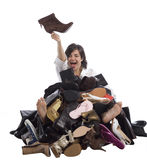 Schuhe! Lizenzfreies Stockfoto