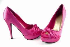 Schuhe der fantastischen Frauen Lizenzfreie Stockfotografie