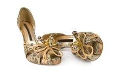 Schuhe der Frauen. Lizenzfreie Stockbilder