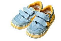 Schuhe der Kinder Lizenzfreies Stockfoto