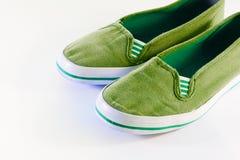 Schuhe der Kinder Lizenzfreie Stockfotos