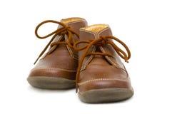 Schuhe der Kinder Stockbild