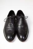 Schuhe der klassischen Männer Stockfoto