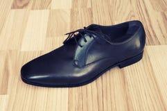 Schuhe der ledernen Männer Lizenzfreie Stockbilder