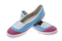 Schuhe der Mädchen. Lizenzfreie Stockbilder