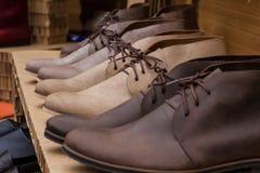 Schuhe der Männer Lizenzfreie Stockfotografie