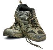 Schuhe der schmutzigen Arbeit Lizenzfreies Stockbild