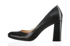 Schuhe der schwarzen Frauen Stockbilder
