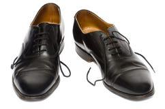 Schuhe des Geschäftsmannes lizenzfreies stockbild