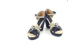 Schuhe des hohen Absatzes sind bequem lizenzfreie stockfotos