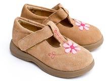 Schuhe des Mädchens Lizenzfreies Stockbild