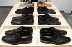 Schuhe des Mannes. lizenzfreies stockbild