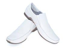 Schuhe des Mannes Stockfotografie
